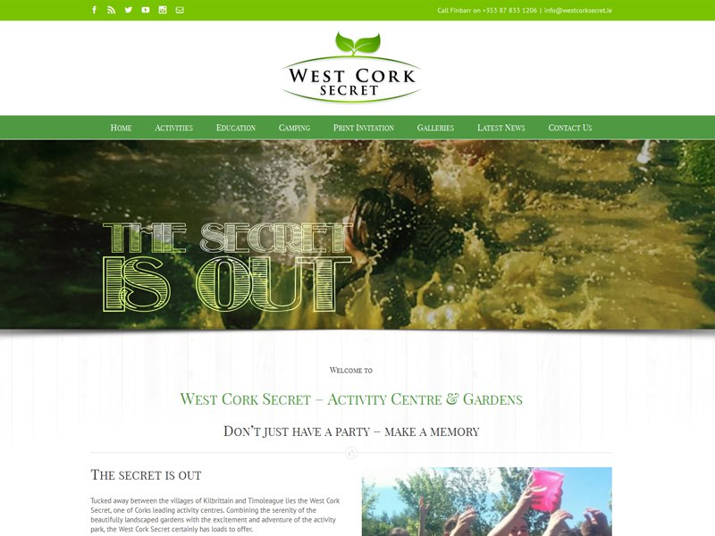 West Cork Secret Launch New Website